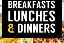 117 WEIGTH LOSS BREAKFASTS, LUNCHES & DINNERS