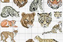 X-stitching/Animal / cross stitch scheme