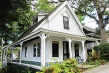 Maine Cottage / House Ideas -- small and medium