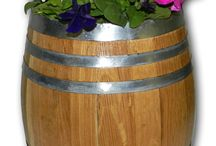 Unusual Planters / Unique Specialty Products -- Planters made from real barrels, and other unique items. Buy at www.CoolPointLanding.com