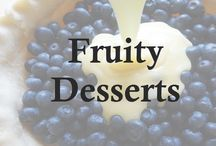 Fruity Desserts / Desserts and treats with fruit, fruit jam, fruit jelly, and fruit preserves. Natural sugars mixed with some real sugars! / by Luci Petlack (Luci's Morsels)