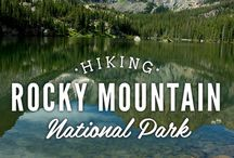 Hiking near Estes Park / Explore the many hiking trails near Estes Park and in Rocky Mountain National Park!