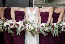 purple and plum wedding colours