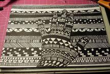 My Zentangle & Doodle