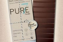 Pure7 Chocolate Bars / Hand-crafted artisan chocolate, free of dairy, soy, gluten, refined sugars, preservatives, and chemicals.