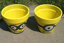 Minion crafts / Plant Pot
