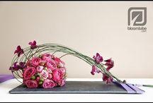 How to make a flower arrangement.