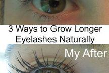Lashes grow
