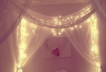 Bedroom Inspiration / Pretty things for my snug cave
