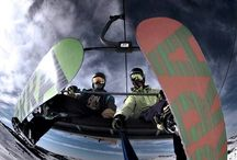 Snowboarding Shots