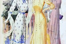 Мода 1910год.