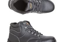 Steel capped boots