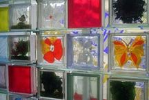 Glass Block Wall