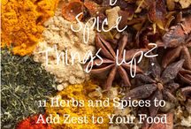 Spices & Sauce Love / The best of homemade spice blends and sauces.