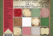 Christmas Paper Collection 2013 / Our Daily Bread Designs 2013 Christmas Paper Collection