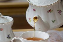 Tea time / Why is the tea time so charming. Probably because it's not a big meal and not just water. It is an area for rest, relaxation and pleasant conversation...