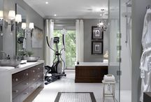 Great master bathrooms / by Anne Rogers