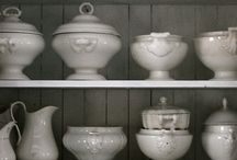 White Ironstone / by Fiona Bowtrycle