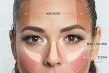 maquillage pour sculpter le visage