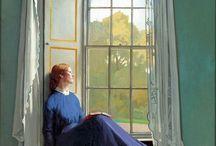 Arte en la ventana
