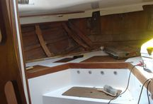 Renovating a yacht / How we renovated our yacht 'Fandancer'.