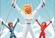 Ski au féminin / #ski #woman