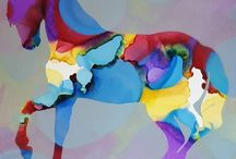 Alcohol Ink Paintings