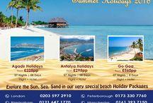 Beach Holiday Deals for Summer 2016
