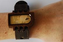 Dames polsfoto's / Houten horloges