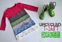 Upcycle kids clothes