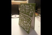 detailed floral card