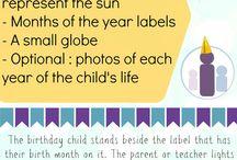 Cumple Montessori/ Aniversário Montessoriano