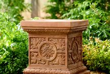 Pedestals, Columns, Plinths & Bases / On their own, or as bases for statuary and urns, pedestals and columns rise from the earth to add height, grace and grandeur to the garden.
