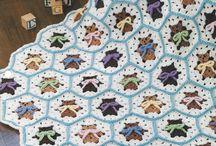 Afegões em Crochê Infantis / Afghans under Crochet Children