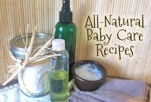 Natural Baby Care Recipes / by Jessie Leopold