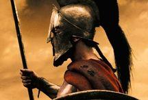 guerrero espartano