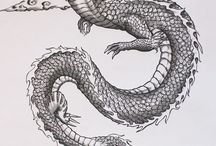 Chinese dragon designs