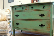 Painted furniture / by Pam Wright