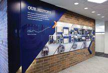 CEVA history wall