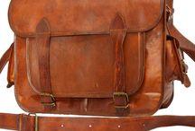 "Vintage Leather Laptop Bags 15"""