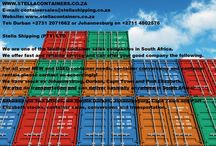 #StellaContainers sales, rentals, conversions and transportaiton / For all your New and Used shipping container sales, rentals, conversions and transportation