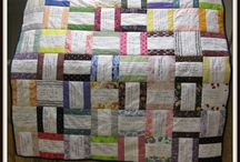 Prayer Quilts / We make, and pray for, prayer quilts as a way to let people know that we are praying for and caring about them.