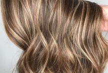 Окраска волос