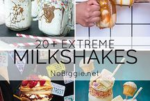 milkshakes and other beverages
