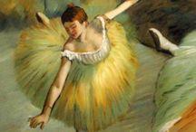 Эдгар Дега * Edgar Degas * ballet dancer * France