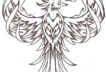 phoenix tattoo Carl