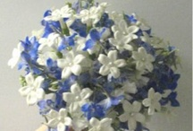 Shades of Blue flowers for wedding and events