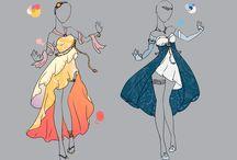 Pretty Anime-Dresses