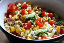 salads / by Tricia Hettwer