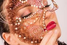 Wire masks and Tiaras / Wire and beads